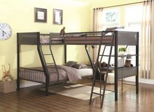 BUNK BED LOFT 3 BED 1 FULL 2 TWINS in 29 Palms, California