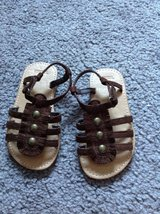 Size 6 Gymboree Brown Sandals Shoes in Fort Campbell, Kentucky