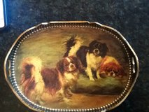 Dog tray. ...antique small wooden in Aurora, Illinois