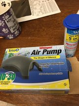 Air pump and test strips in Oswego, Illinois