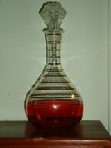 "vintage decanter 11.5""H in Oswego, Illinois"