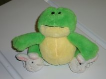 """4""""H ganz frog w/bunny slippers in Lockport, Illinois"""