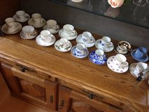 16 Collector or daily use small cups with saucers in Spangdahlem, Germany
