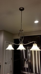 3 Light Pendant in Brushed Nickel in Lockport, Illinois