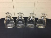 GLASS PITCHERS w/HANDLE (4) in St. Charles, Illinois