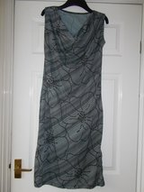 Dress size M 12 by Royal Black Grey Stripe in Lakenheath, UK