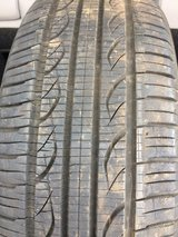 (1) P195/60R15 Used Kuhmo Tire in Joliet, Illinois