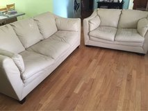 Couch & Love seat - Bonded Leather in Cherry Point, North Carolina