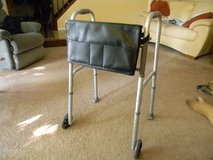"Folding Walker with 5"" Wheels and Organizing Bag in St. Charles, Illinois"