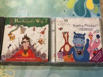 Set of 2 Cds for kids. Baby Einstein and Beethoven's Wig 3 in Naperville, Illinois