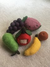 Wool Play Fruit Set/Toy in Naperville, Illinois