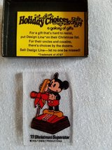 Vintage Disney touch tone phone ornament in Naperville, Illinois