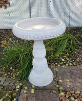 Birdbath in Plainfield, Illinois