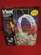 K'NEX Star Shooter Roller Coaster Building Set 434 pc Motorized New in Naperville, Illinois