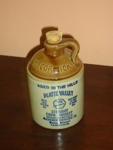 vintage mccormick whisky jug in Lockport, Illinois
