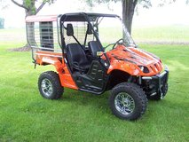 2006 Yamaha Rhino 660 4X4 w/Custom Dog Kennel in Melbourne, Florida