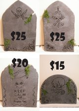 MADE TO ORDER TOMBSTONES! Over the Hill BDay item? Halloween in Naperville, Illinois