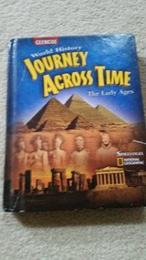 6th Grade Social Studies Text Book Journey Across Time in Bolingbrook, Illinois