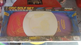 Frisbee Golf Set in Yucca Valley, California