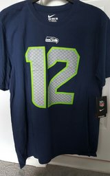SEATTLE SEAHAWKS Nike 12th Man Fan T Shirt (Adult Large) *** NEW *** in Tacoma, Washington