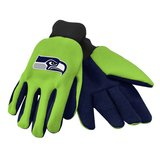 SEATTLE SEAHAWKS Neon & Blue Utility Gloves - (One Size fits Most) *** NEW *** in Fort Lewis, Washington