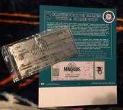 GRIFFEY JR. Metal Memorabilia Ticket of his 8 HR Streak in 1993 *** NEW *** in Tacoma, Washington