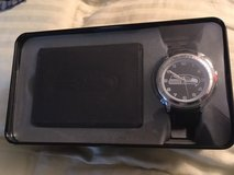 SEATTLE SEAHAWKS Black Trifold Wallet & Watch in Tin Gift Set *** NEW in Tacoma, Washington