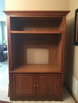 Solid Wood TV/Entertainment Center in Chicago, Illinois
