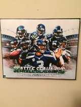 SEATTLE SEAHAWKS SUPERBOWL XLVIII 8X10 CANVAS *** NEW *** in Fort Lewis, Washington