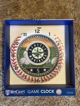 "SEATTLE MARINERS Officially Licensed WinCraft 11"" Wall Clock *** NEW *** in Tacoma, Washington"