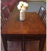 Hardwood table in Tacoma, Washington