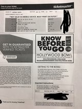 2 Kings of Leon tickets and shuttle pass in Camp Pendleton, California