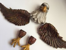 Eagle wall decoration in Fort Rucker, Alabama