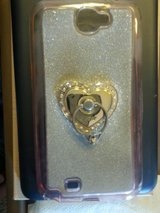 SAMSUNG GALAXY NOTE 4 PROTECTIVE COVER W/RING HOLDER in Schaumburg, Illinois
