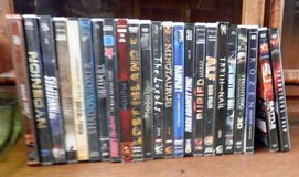 Free DVDs for E3 and Below, Many More Titles and Films in Ramstein, Germany