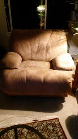 Living room couch and chair in Tacoma, Washington