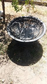 Large fire pit in Fort Riley, Kansas