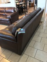 New leather couches in Fort Bliss, Texas
