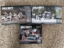 Call of Duty Mega Bloks 3 full and 2 partal sets in Naperville, Illinois