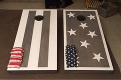 Cornhole Game in Travis AFB, California