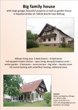 Big family house - 25mins from AirBase in Spangdahlem, Germany