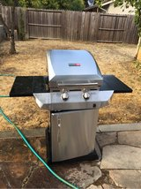 Char-Broil Performance Tru Infrared 2 burner cabinet gas grill in Travis AFB, California