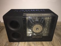 Crunch subwoofer + amp in Ramstein, Germany