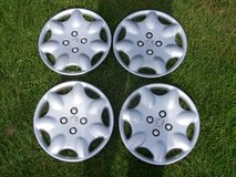 PEUGEOT WHEEL TRIMS/ HUB CAPS 13 INCH X 4 in Lakenheath, UK