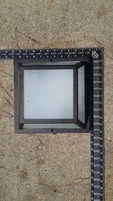 Outdoor Ceiling mount Light Fixture - Square in Houston, Texas