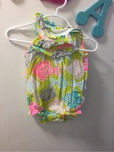 Adorable Carters fishy romper in Okinawa, Japan