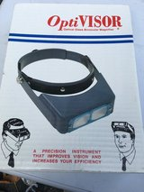 Optivision binocular magnifier in Oswego, Illinois