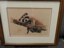 Three Jean Haefele Watercolor Prints Signed and Numbered in Joliet, Illinois