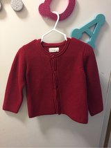 worn once! Red knit cardigan sweater. in Okinawa, Japan