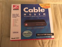 ***** Zoom 5241 Ethernet USB External Cable Modem 42 Mbps Docsis 2.0 ***** in Tacoma, Washington